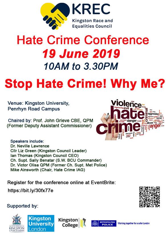 KREC Hate Crime Conference 2019